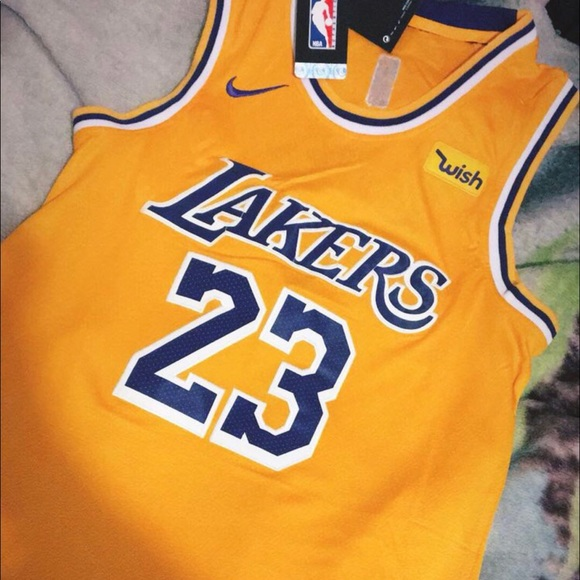 newest e54d7 046bc Lakers LeBron James Jersey #23